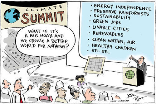 ⒸEnvironmental Cartoons by Joel Pett